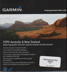 Garmin TOPO V6 FULL TOPOGRAPHIC Maps Australia & New Zealand  microSD Card