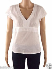 NEW WHITE STUFF LADIES SUMMER TUNIC SHIRT BLOUSE TOP  SIZE 12 FITTED OFFICE *