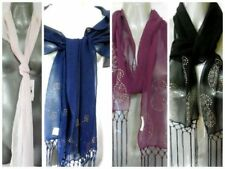 Polyester Beaded Women's Scarves and Shawls