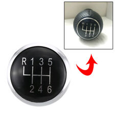 6 Speed Gear Knob Stick Lever Badge Emblem Trim Cap Cover For VW Passat B6 B7 CC