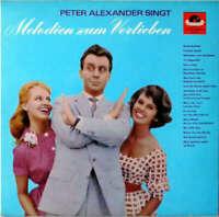 Peter Alexander Singt Melodien Zum Verli LP Album RE Vinyl Schallplatte 142299