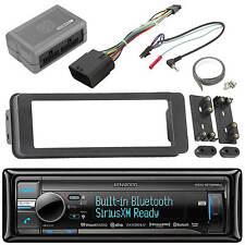 Bluetooth Kenwood USB Radio, Harley Scosche 98-2013 FLHTC FLHX Touring DIN Kit