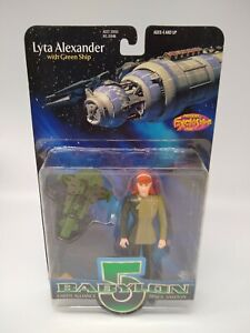 Babylon 5 Lyta Alexander With Green Ship Previews Exclusive - Factory Sealed