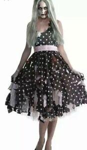 Forum Halloween Fancy Dress Costume Housewife Zombie Dress Size 14 - 16 RRP £30