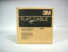 3M 3365/50 Flat Cable 100 ft 105C 300V / 50 Conductor - New
