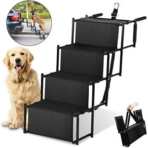 Lightweight Foldable Ramp Folding Pet Dog Car Boot Acces Step Ladder Heavy Duty