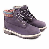 Timberland 6 Inch Premium Junior Kinder Stiefel violett