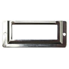 20 pcs Chrome Silver 58x24 mm Locker Drawer Door Name Plate Holder Office NA-S15