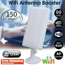 Long Range WiFi Extender Wireless Outdoor Router Repeater WLAN Antenna Booster