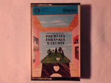 PREMIATA FORNERIA MARCONI Per un amico mc cassette k7 P.F.M. PFM NUOVA UNPLAYED!
