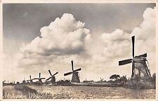 BR16777 Hollandse Molens moulin a vent wind mill  netherlands