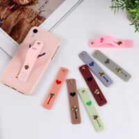 Cute Silicone Finger Grip Ring Stand Holder Bracket for Mobile Phone Tablet