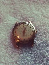 L👀K Vintage Omega Seamaster Yellow Gold Automatic Men's Watch No Band Works!