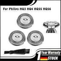 3x Set Scherkopf Messer Klingen für Philips HQ4806 HQ4806//16 HQ4807//16