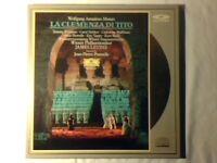 JAMES LEVINE Mozart: La clemenza di Tito 2 laserdisc laser disc DGG