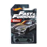 Hot Wheels GDG44-GJV57 Mercedes AMG GT grau - Fast & Furios Maßstab 1:64 NEU!°