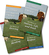 Dog Training Herding Sheep 4-DVD Series on Respect, Driving, Outrun, Lift, Fetch
