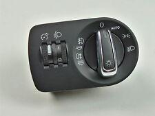 Audi A1 8X Lichtschalter AUTO Chrom RHD rechtslenker 8X2 941 531 / 8X2941531