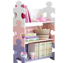 KidKraft Puzzle Bookcase -- Free Postage---Available in 2 Colours