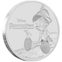 Niue 2 Dollar 2018 - Disney™ Pinocchio - Kollektion - 1 Oz Silber PP