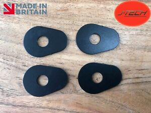 Yamaha R1 / R6 / FZ1 / FZ6  / Fazer  Indicator Adapters Spacers. Stainless Steel