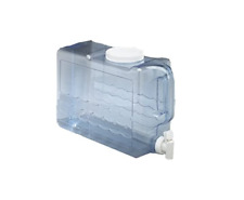 Beverage Container Plastic Water Jug Slimline Durable Large Opening 2.5 Gallon