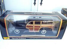 Maisto Chevrolet 1948 Fleetmaster Woody 1:18 Die Cast tr