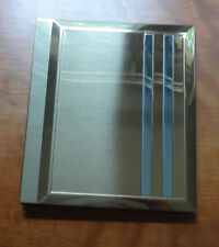 VTG New Mellannco Int. LTD The Keeper Of Memories Golden Brass Look Photo Album