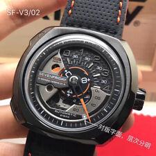 automatic mens Watch SevenFriday Mechanical Japan Miyota Movement steel case 58