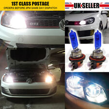 2 x H15 drl high beam ampoule audi golf MK7 blanc xenon canbus erreur free upgrade