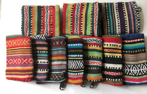 New Hippie Tribe Eco Frendly Coin Purse Cotton Card Holder Mini Wallet Nepal KW1
