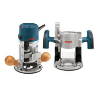Bosch 12 Amp 2.25 HP Combo Plunge & Fixed-Base Router 1617EVSPK New