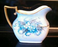 Creamer - Delicate Flowers Vintage Hand Painted - Tk Made In Czechoslovakia