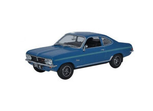 1:43 Vauxhall Firenza Sport SL by Oxford Diecast in Blue VF001