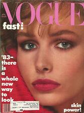 Vogue January 1983