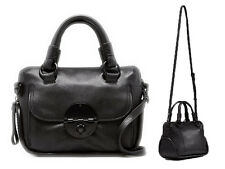 Mimco petite black matte hardware turnlock zip top bag RRP $349 *SPECIAL*