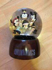 Vintage 90's ANIMANIACS Snow Globe 1994 Warner Bros WB Yakko Wakko Dot