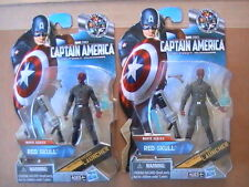 RARE Captain America Movie Red Skull Neck Variant Figure Lot Marvel Universe