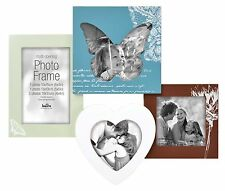 Wood Multi Aperture Photo Frame Picture Frame 4 Shapes Holds 4 Photos 6x4 5x54x4