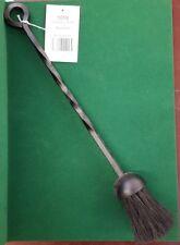 "MANOR Black Iron Companion Brush 18"" Fireside Fireplace Fire Companion"
