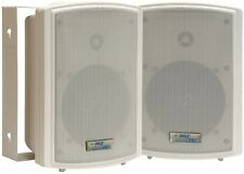 Pyle PDWR5T 5.25'' Indoor/Outdoor Waterproof Speaker pair w/30 W 70V Transformer