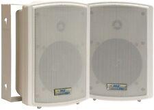 Pyle PDWR5T 5.25'' Indoor/Outdoor Waterproof Speaker pair w/30 W 70V Transformer