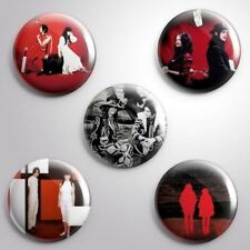 5 WHITE STRIPES -  Pinbacks Badge Button 25mm 1''