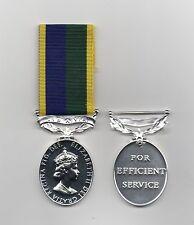 More details for t & a v r long service medal  - a superb replica