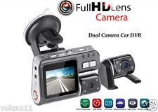 "1080P HD 2.7"" Dual Lens CAR DVR Vehicle Video Dash Camera Recorder Night Vision"
