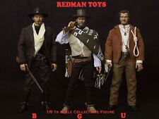 1/6 Redman Toys Good Bad Ugly LOT of Three Cowboy figures all MIB