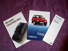 Ford  Fiesta XR 2 / Diesel Orig.Prospekte, und Preisliste 1983/1984