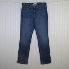 Levi's 505 Women's Jeans 8M Straight Leg Medium Wash Stretch Denim 29x31