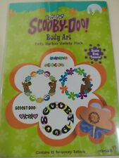 Scooby Doo Tattoos Temporary Body art Anklets & Bracelets NIP vintage 1999