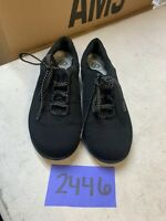 Clarks Womens Cloud Steppers Sneakers Lace Up Walking Shoes Size 6.5 M Black